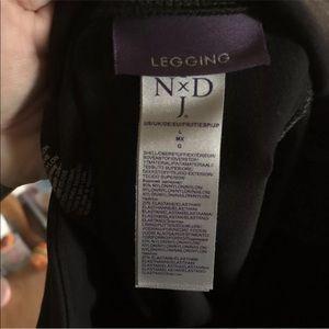 NYDJ Pants - NYDJ Sz large leggings black tummy control